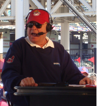 Cleveland sportscaster Bruce Drennan